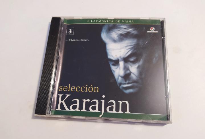 Selección karajan nº 3. johannes brahms. filarmónica de