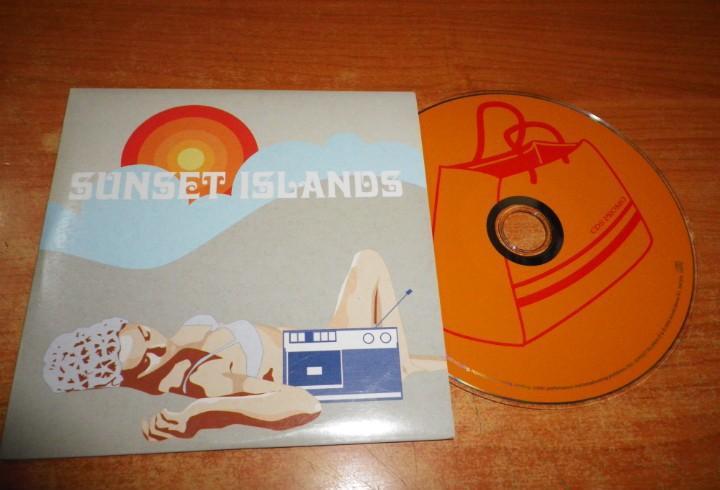 Sunset islands cd album promo 2002 nu tempo primitive sound