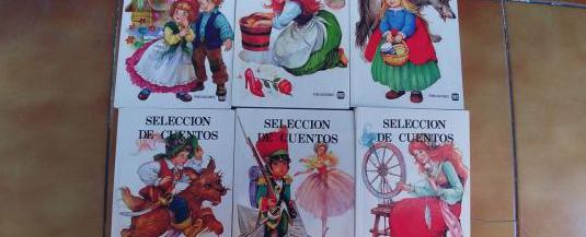 Seleccion de cuentos fher, 6 tomos ilustrados
