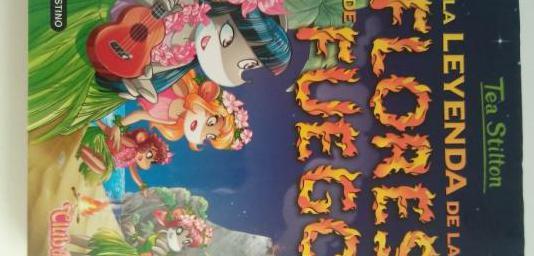 Tea stilton 15. la leyenda de las flores de fuego.
