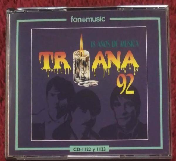 Triana (92 - 18 años de musica) 2 cd's 1991 fonomusic * 1ª