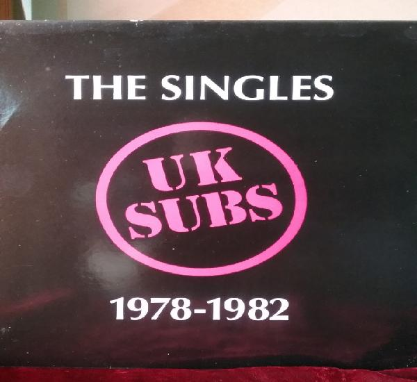 Uk subs 1978 - 82 singles abstract sounds records.nuevo