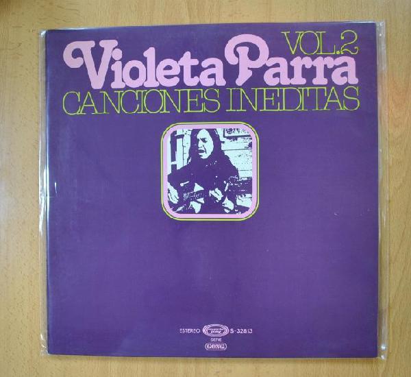 Violeta parra - canciones ineditas vol 2 - gatefold - lp