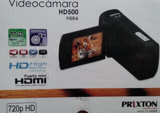 Vídeo cámara prixton hd 500 fiera