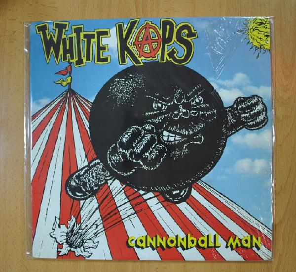 White kaps - cannonball man - lp