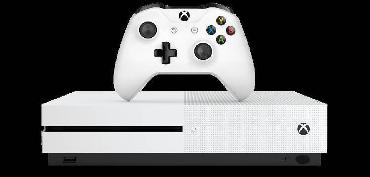 Xbox one s con mando y juegos!!