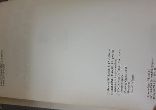 Enciclopedia ciencia y técnica
