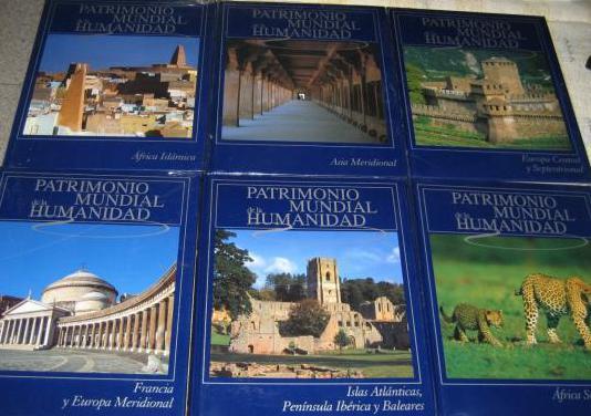 Patrimonio mundial de la humanidad, 10 tomos, impe