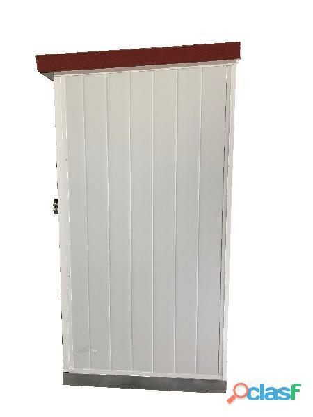 Módulo sanitario de 2x1 m con dos baños independientes. 2