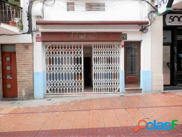 Local comercial en pleno centro de sitges