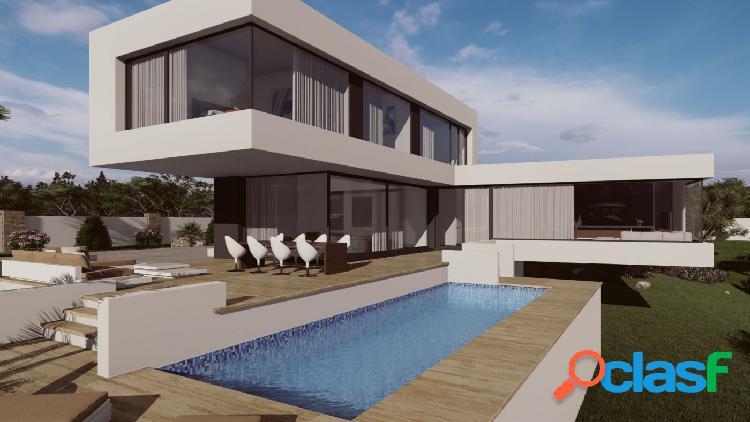 Proyecto - villa de estilo moderno con piscina privada y vistas al mar