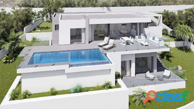 Villa de lujo con vistas espectaculares
