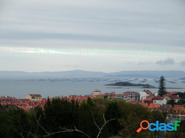 Solar edificable con vistas al mar