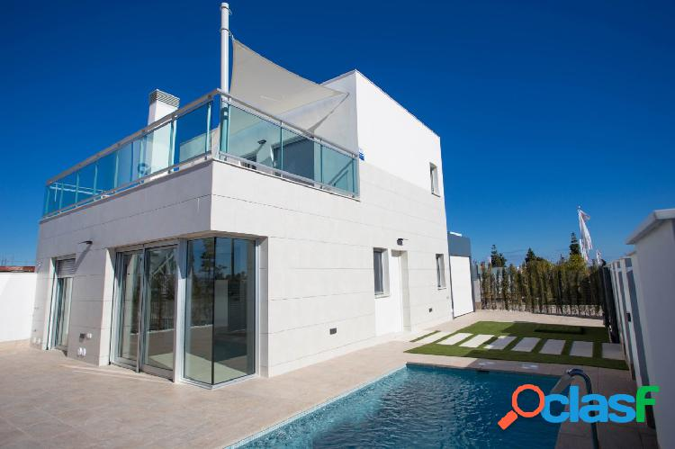 Oportunidad única....casa unifamiliar a estrenar en los alcázares: 290,000.00€
