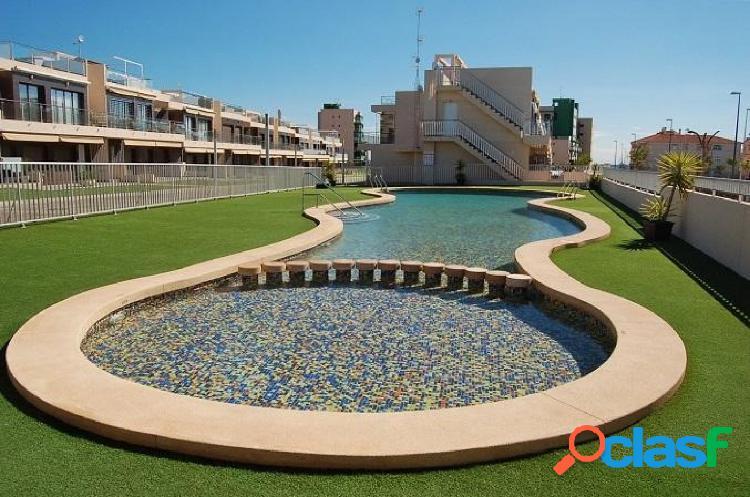 Apartamento en mil palmeras con solarium a 350 m de la playa