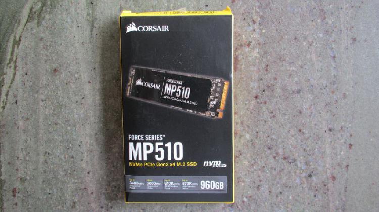 Disco duro sólido corsair mp510 960 gigas