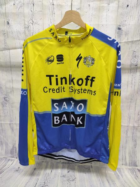 Maillot y culotte tinkoff credit systems