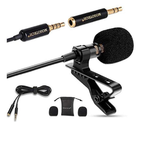 Nuevo micrófono de solapa