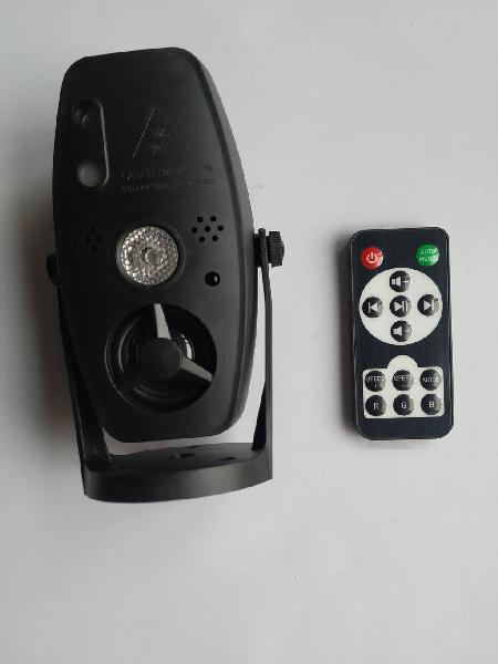 Proyector disco laser led dj luces rgb con mando