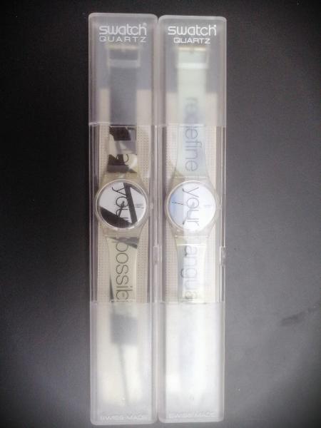 Swatch gk227 y gk228 reloj