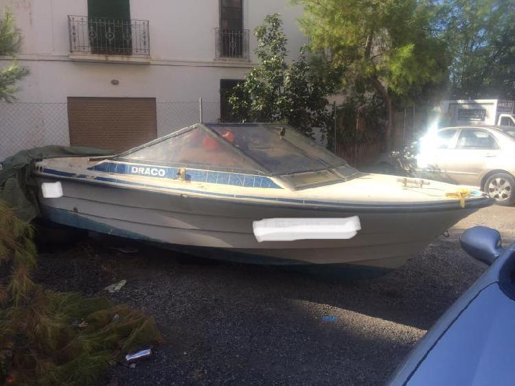 Barco embarcion de recreo