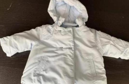 Abrigo de bebé para invierno