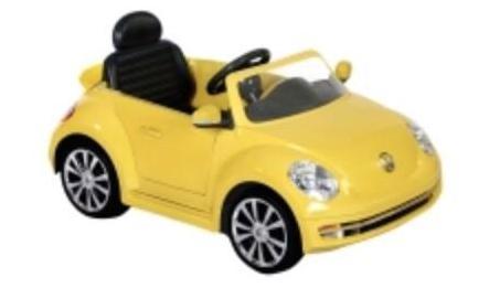 Coche eléctrico volkswagen beetle
