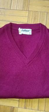 Jersey de pico rojo de lana t s (10-12a)