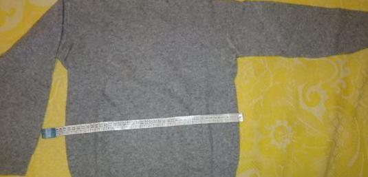 Jersey gris de lana nuevo t s(niño 10-12a)