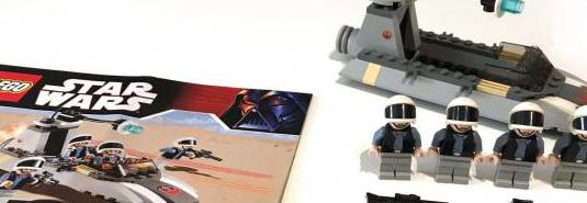 Lego star wars 7668, 8015 y 7667