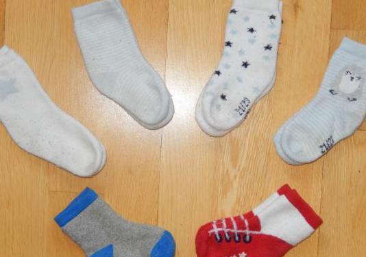 Lote calcetines bebé niño. 21-23