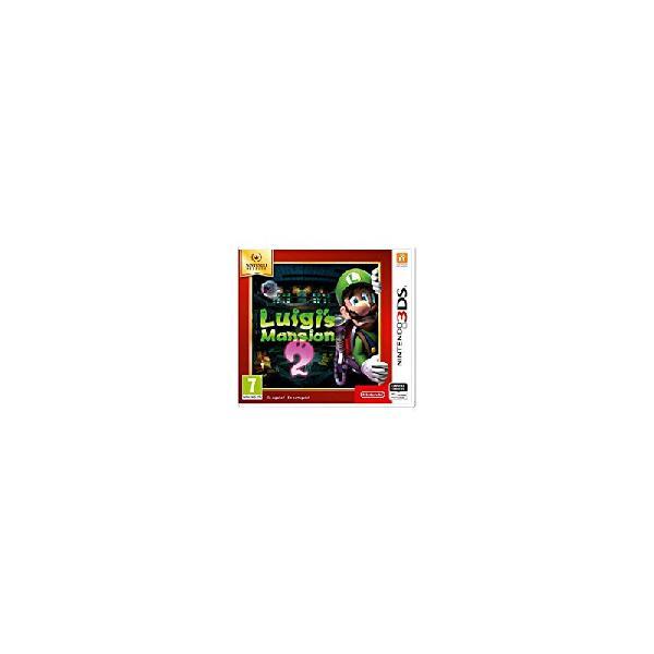 Luigi's mansion 2 nintendo selects 3ds (sp)