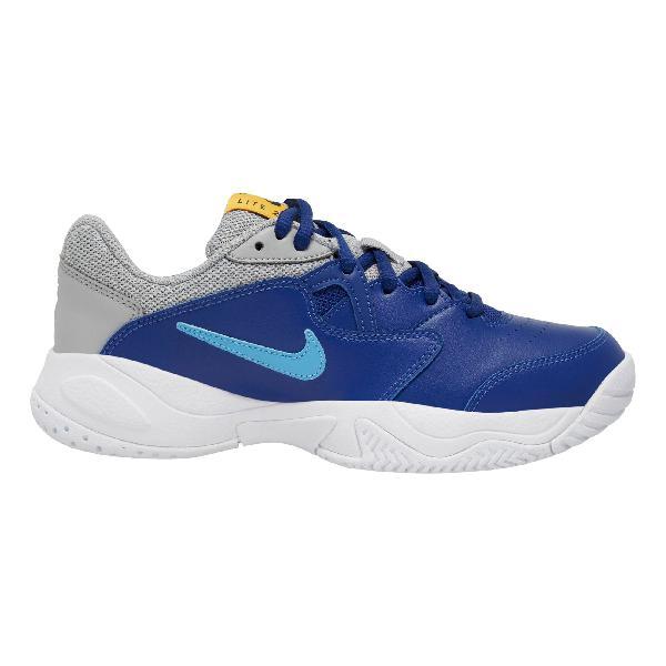 Nike court lite 2 zapatilla de pista dura niños - azul,