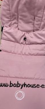 Saco silla de paseo bugaboo rosa pastel