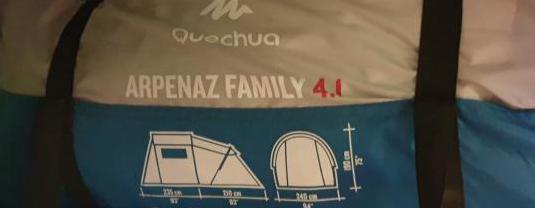 Tienda de campaña quechua arpenaz family