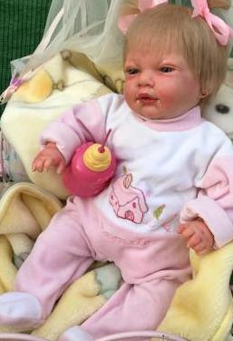 Muñeca bebé reborn niña