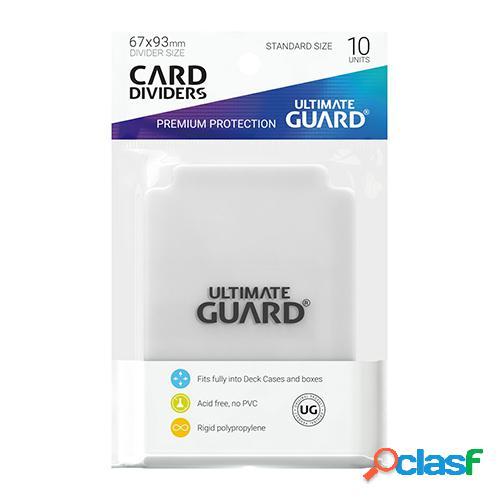 Ultimate guard card dividers tarjetas separadoras para cartas tamaño estándar transparente (10)