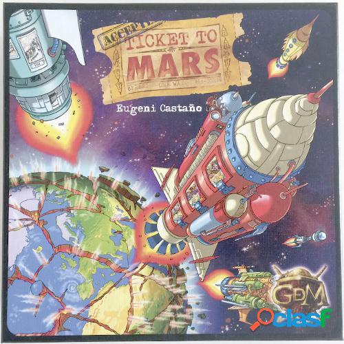 Ticket to mars - segunda mano