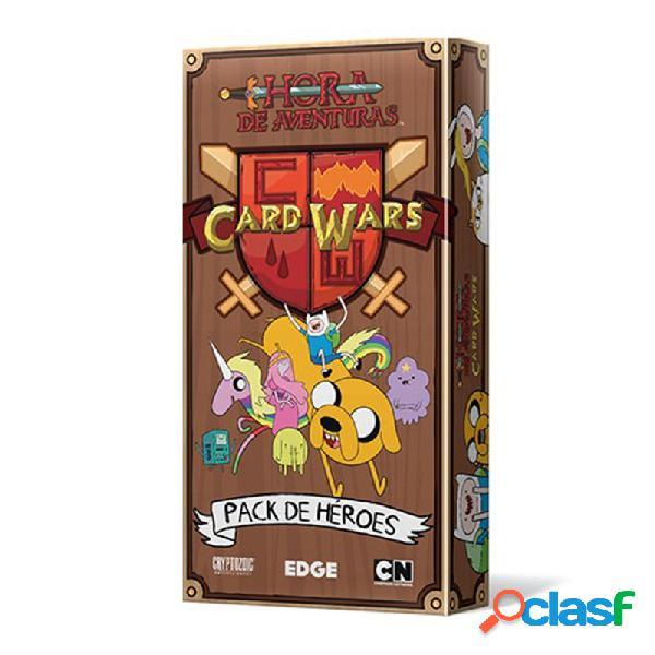 Hora de aventuras card wars - pack de heroes