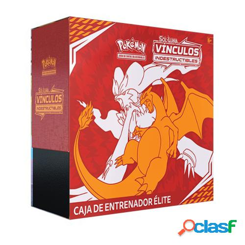 Pokemon jcc - caja de entrenador de elite vinculos indestructibles