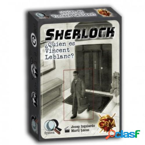 Q. serie 4 - sherlock ¿ quien es vicent leblanc ?