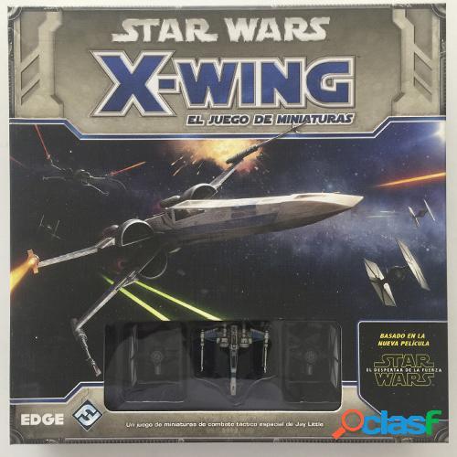 Star wars - x-wing - caja basica - segunda mano