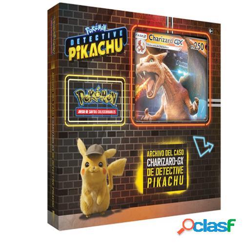 Pokemon jcc - archivos del caso charizard-gx