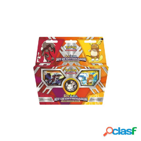 Pokemon jcc - sol y luna kit de entrenador