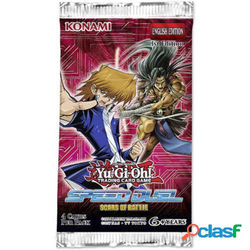 Yu-gi-oh! sobres speed duel - cicatrices de batalla