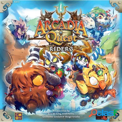 Arcadia quest - riders - segunda mano