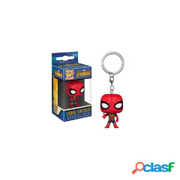 Funko pop - keychain avengers infinity war iron spider vinyl figure 4cm