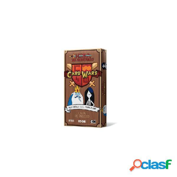 Hora de aventuras card wars - rey hielo contra marceline