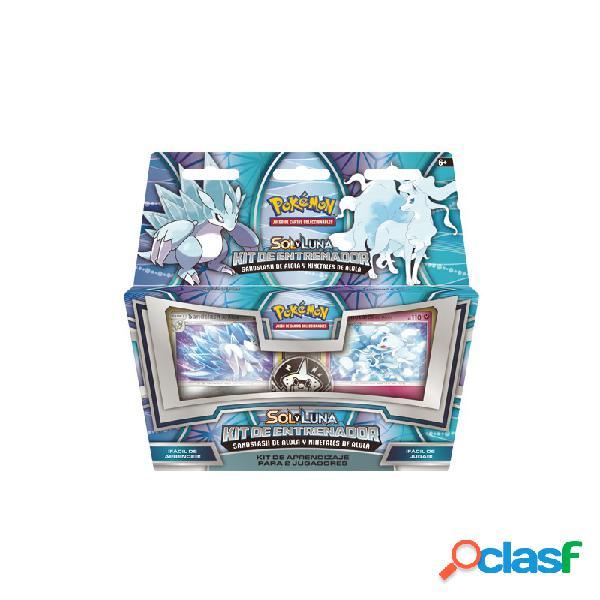 Pokemon jcc - sol y luna kit de entrenador sandslash de alola y ninetales de aloa 1