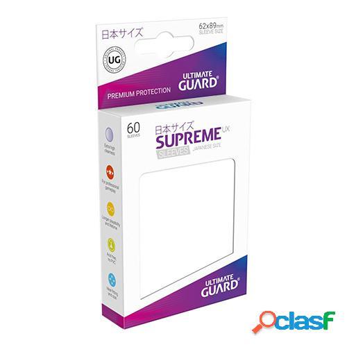 Ultimate guard supreme ux sleeves fundas de cartas tamaño japonés blanco (60)